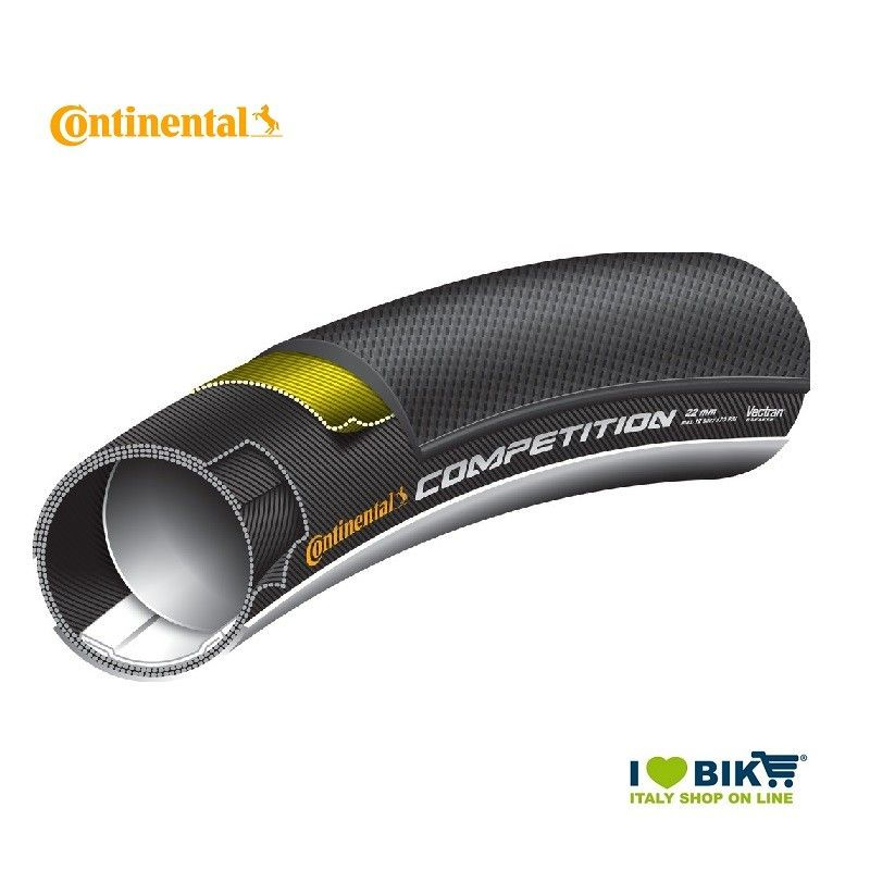 Tubular 700x22 Competition Black Continental - 1