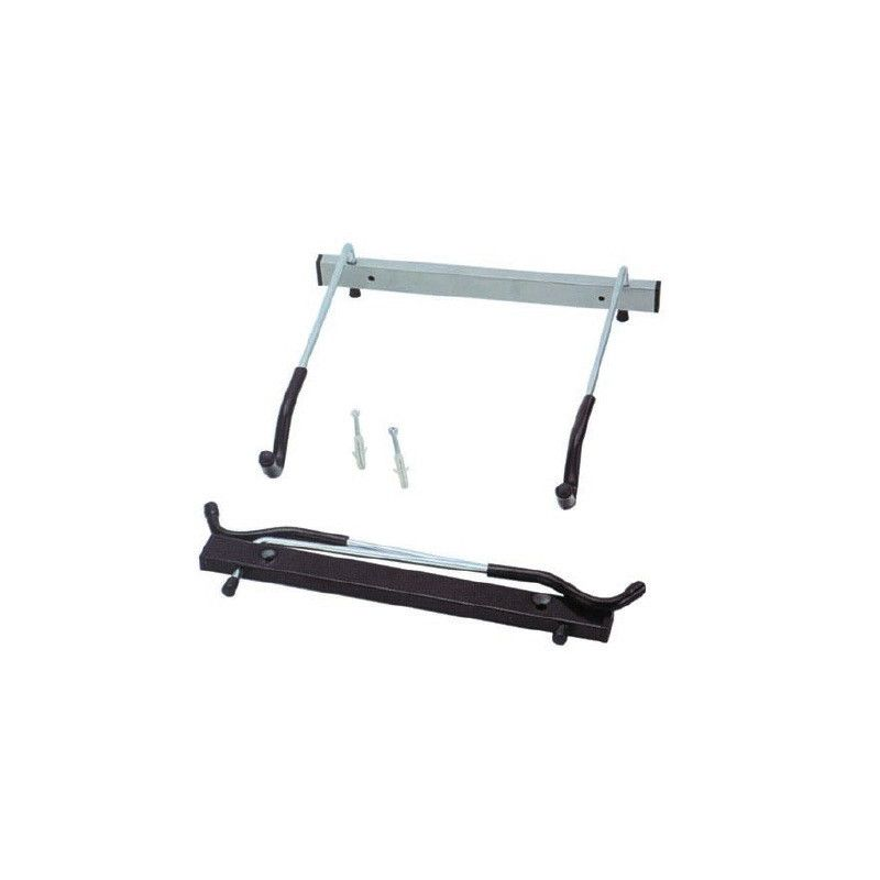 Bike holder wall with folding arms  - 1