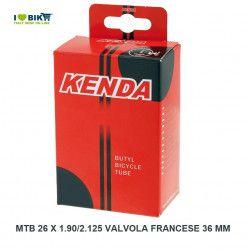 Camera d'aria misura 26 Mtb 26 x 1.90/2.125 valvola francese 48 mm