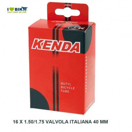 16 x 1.50/1.75 valvola italiana 40 mm