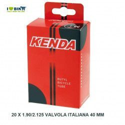 air chamber measuring 20 x 1.75/2.125 valve 20-9 Italian 40 mm