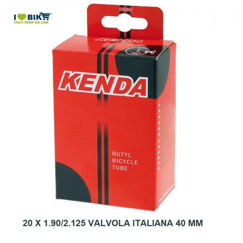 air chamber measuring 20 x 1.75/2.125 valve 20-9 Italian 40 mm  - 1
