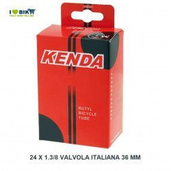 air chamber measuring 1.3 x 24-6 24/8 Italian valve 36 mm  - 1