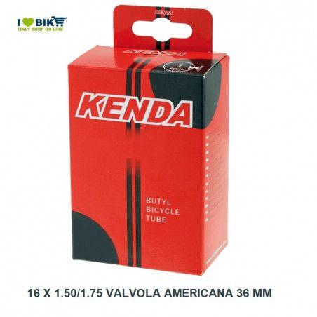16 x 1.50/1.75 valvola americana 36 mm