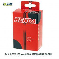 air chamber measuring 24 x 1.90/2.125 valve 24-9 American 36 mm  - 1