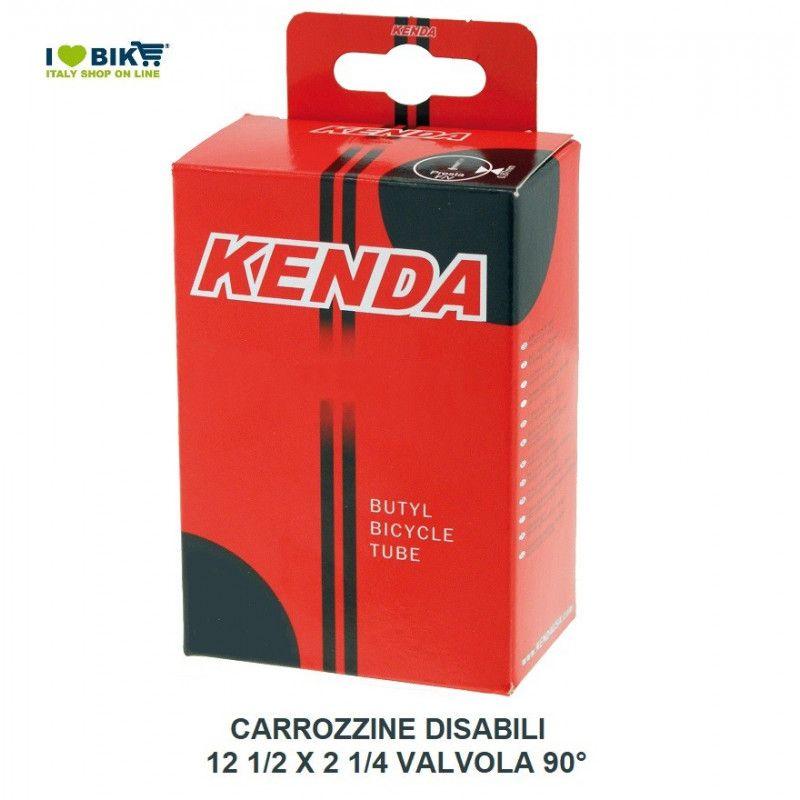 Camera d aria per carrozzine disabili misura 12 1/2 x 2 1/4 valvola 90