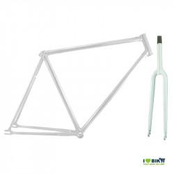 telaio bicicletta scatto fisso bianco economico
