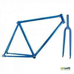 telaio bici fixed blu scatto fisso single speed vendita on line