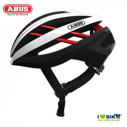 Helmet AVENTOR TG. M Abus white/red