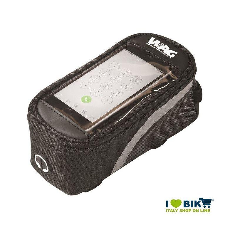 Porta smartphone con borsetta bici porta oggetti tg s - Porta bici smart ...
