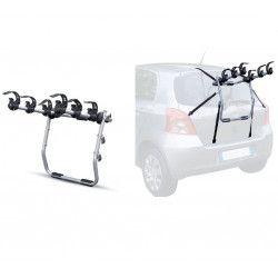 Portaciclo da auto posteriore Mistral per 3 biciclette