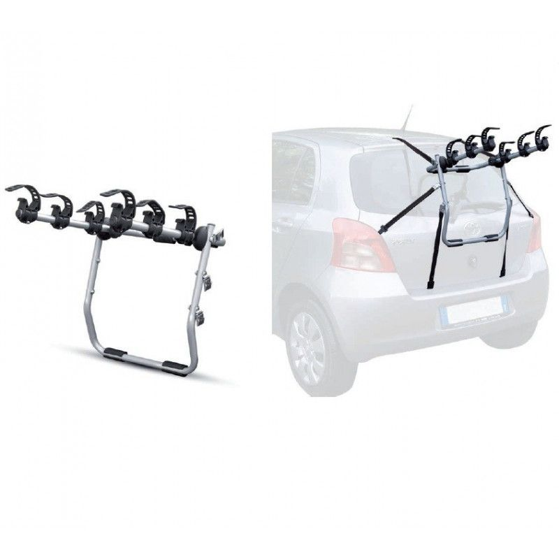 Rear bike rack for car Mistral with 3 bicycles seats  - 1