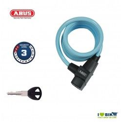 Spiral Padlock ABUS 590 KID Light Blue