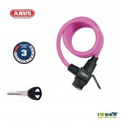 Lucchetto a spirale ABUS 590 KID Rosa