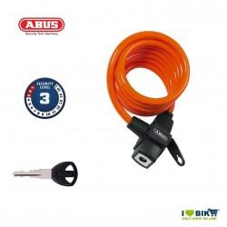 Spiral Padlock ABUS 590 KID Orange