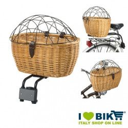Wicker basket for front and rear animals