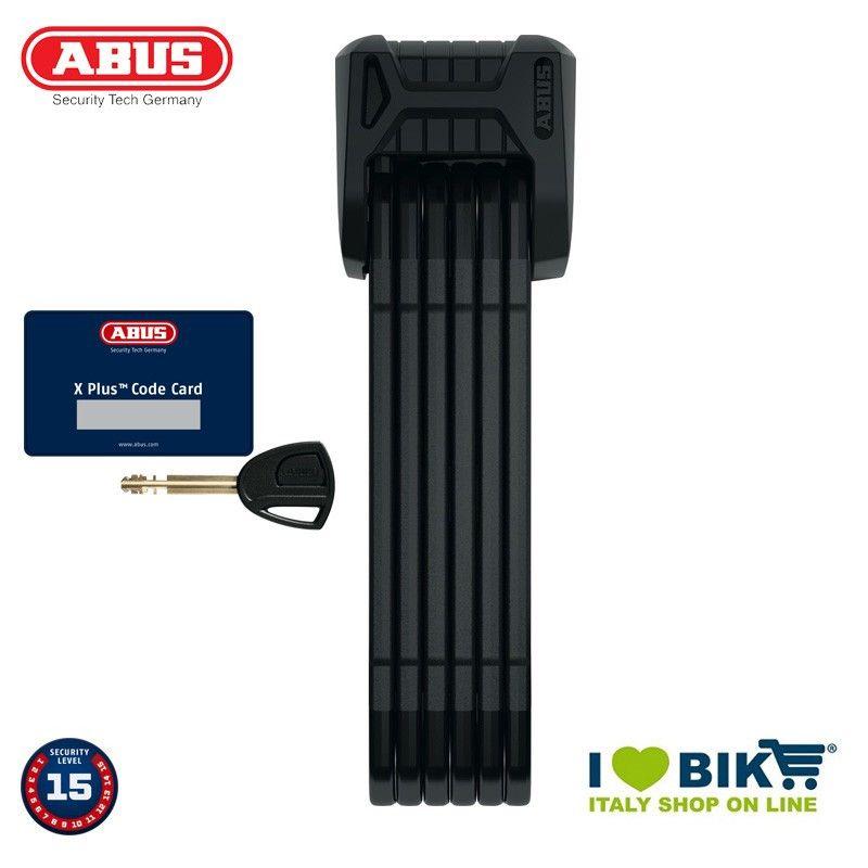 Antifurto pieghevole Abus Bordo 6500/110 SH nero Abus - 1