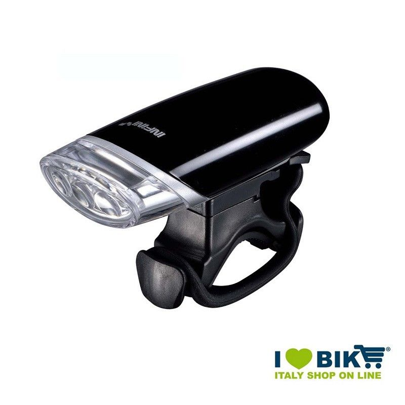 Fanalino anteriore luxo 3 led a luce bianca colore nero for Led luce bianca