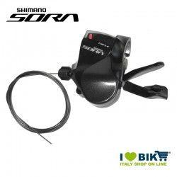 Leva cambio Shimano per Flatbar SL-R3030 3-vel., sinistro, 1800mm