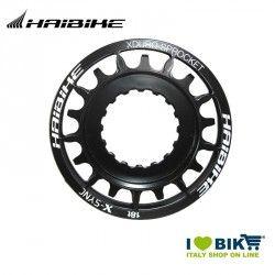 Pignone Haibike, 18 denti, per Plus-Bike, Bosch, nero
