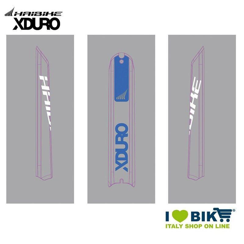 Skidplate Sticker Haibike E Bike Xduro 2018 Blue