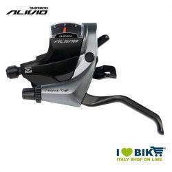 Shift lever Shimano Alivio ST-M4000, 3 speed, left, 1800mm
