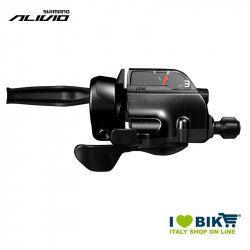 Leva cambio e freno Shimano Alivio ST-T4000, 3 vel, 1800mm, sx