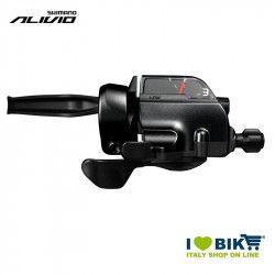 Shift lever Shimano Alivio ST-T4000, 3 speed, left, 1800mm