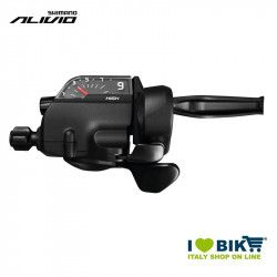 Shift lever Shimano Alivio ST-T4000, 9 speed, right, 1800mm