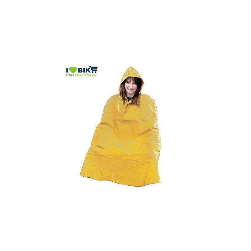 Rain Poncho for adult YELLOW Wowow - 1