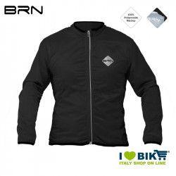 Black wind-resistant BRN sleeve long jacket