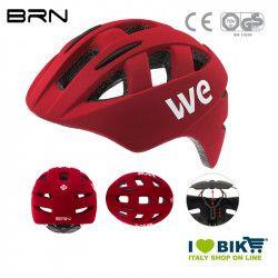 Helmet BRN WE matt red, one size, 54-58 cm, 2019