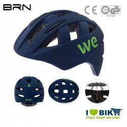 Helmet BRN WE matt blue, one size, 54-58 cm, 2019
