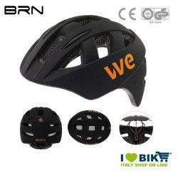 Helmet BRN WE matt black, one size, 54-58 cm, 2019