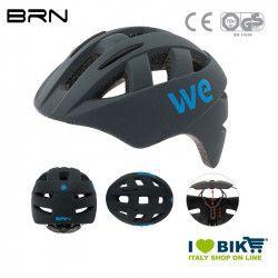 Helmet BRN WE matt grey, one size, 54-58 cm, 2019