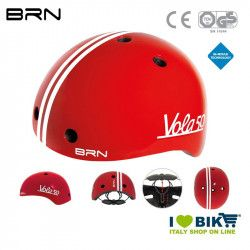 Child Helmet BRN Vola 50, Red, 2019