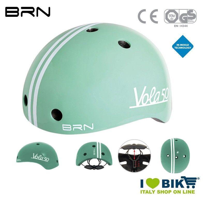 Casco BRN Bimbo Vola 50, Celeste, 2019