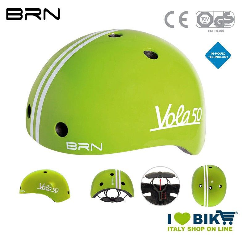Child Helmet BRN Vola 50, Green, 2019