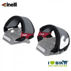 Cinelli Reflective Kinks Straps, black
