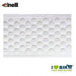 Nastro manubrio Cinelli Bubble bianco, tappi inclusi