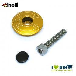 Tappi forcella 1 1/8 32mm in lega di alluminio, Oro