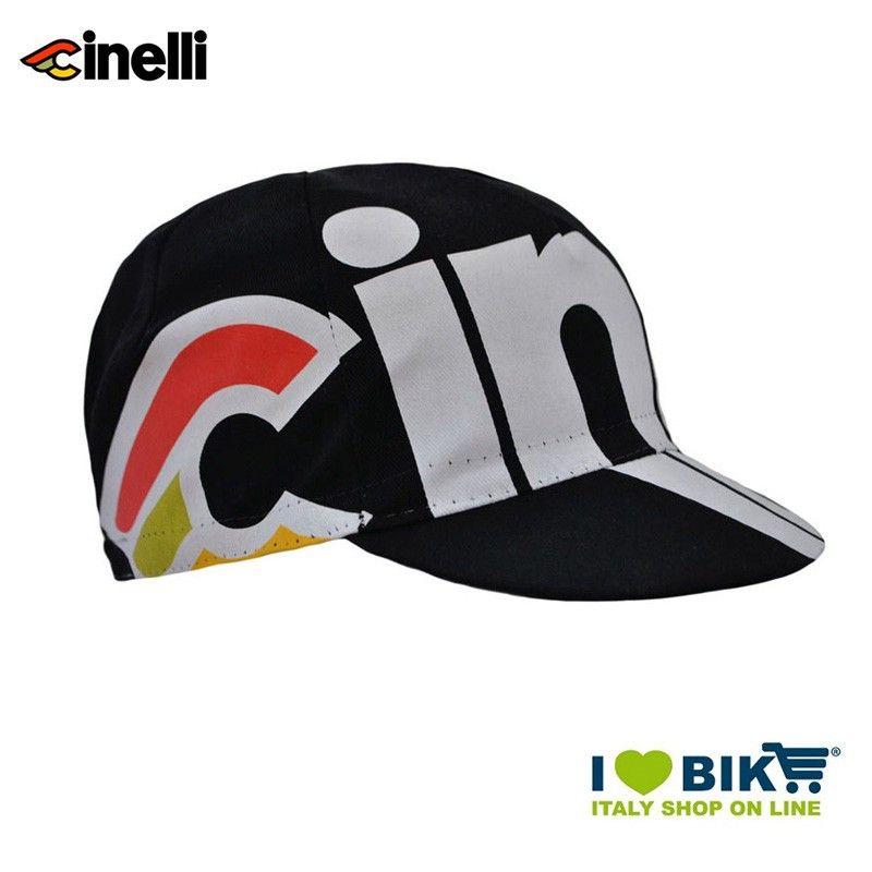 Hat Cinelli Nemo, black, one size