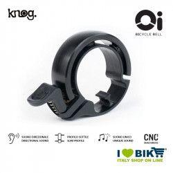 Campanello 25,4 - 31,8 mm, Knog Oi Classic, nero