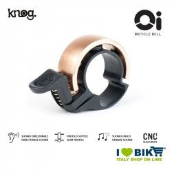 Bike Bell 22,2 mm, Knog Oi Classic, Gold