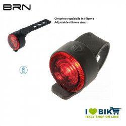 Fanalino posteriore 1 led rosso 6 lumen, BRN Round, 2 batterie BA02D incluse BRN - 1