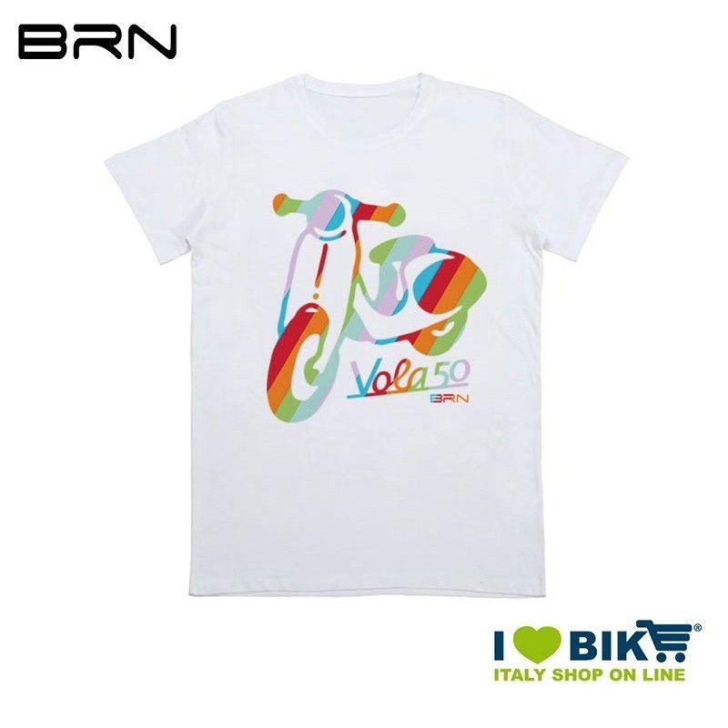 T-shirt Bimbi BRN Vola50, taglia unica, bianca