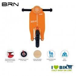 Wooden bike without pedals BRN VOLA 50, Orange BRN - 2