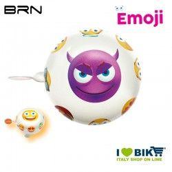 Campanello Emoji Diavoletto 58 mm BRN - 1