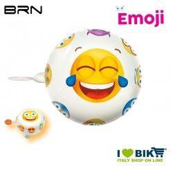 Campanello Emoji Divertito 58 mm BRN - 1