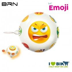 Campanello Emoji Arrabbiato 58 mm BRN - 1